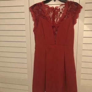 BCBG lace cocktail dress